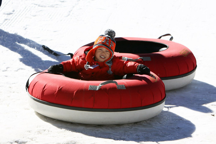 Bring the kids up to the North Pole Tubing Park, open 9:00am to 4:30pm.
