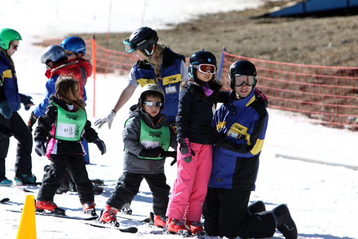 Our ski school is molding the next generation of rippers
