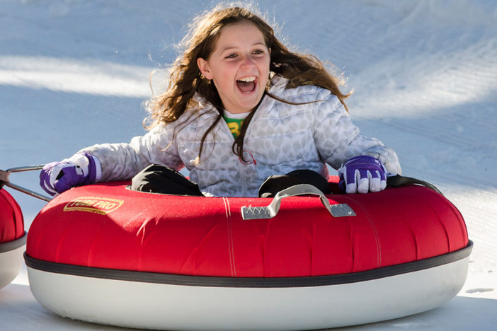 Our tubing park is open daily through Jan. 5th