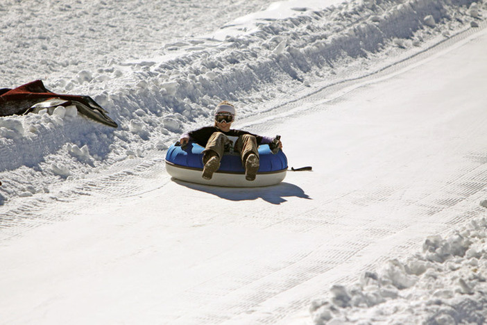 Hit the North Pole Tubing Park before the kids have to go back to school!
