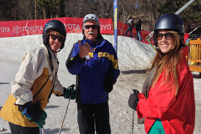 January is Learn to Ski/Snowboard Month. Great beginner packages available.