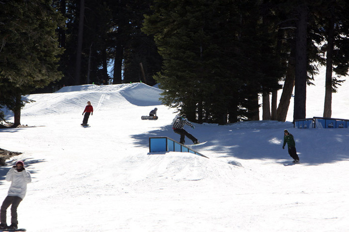 We've got top to bottom terrain park features for every ability.