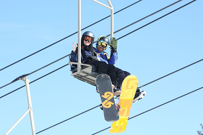 Our instructors will have you carving down the hill like a pro in no time