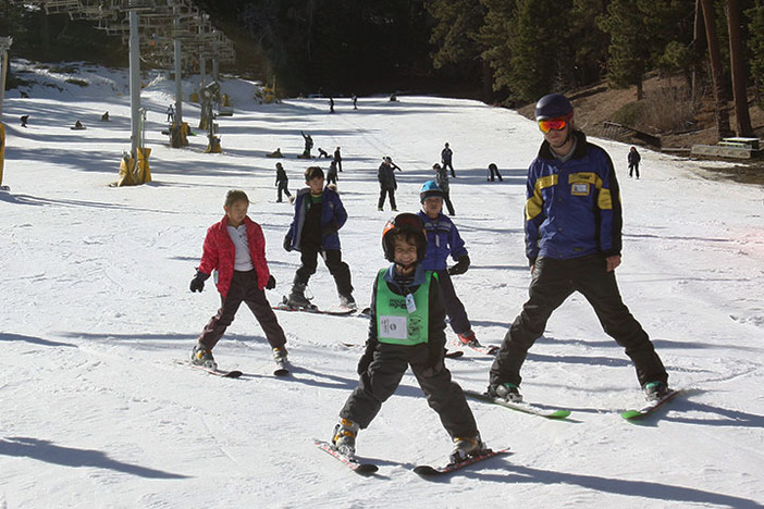 Bring your kids up during January Learn to Ski & Snowboard Month