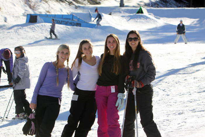 Come spend the weekend on the slopes with some friends!