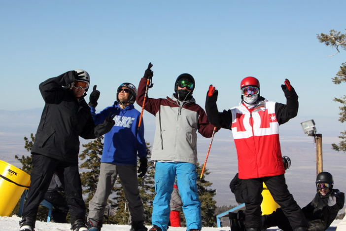Fun isn't weather dependent, grab your buds and come shred.
