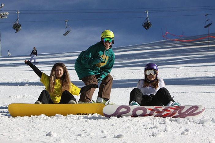 January is learn to Ski/Snowboard month, so grab your friends and get them on board!