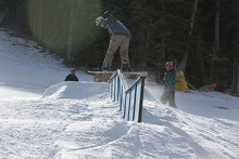 Trever taking a front board to the DFD.