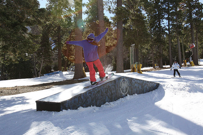 Beginners head to Sunnyside for fun, ride on features.