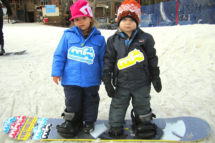 Kids love learning during January Learn To Ski & Snowboard Month