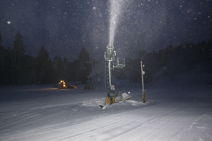 Light snowmaking this week is keeping the mountain fresh.
