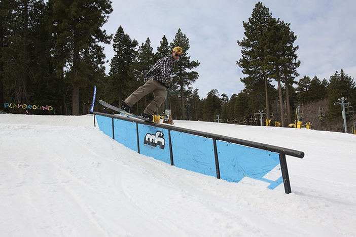 Trever Haas getting blunted in The Playground.
