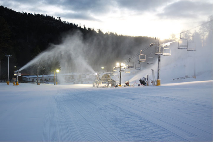 More new snow laid down last night! Possible snow in the forecast for tonight!