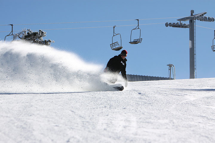 Snowmaking, colder temps, and a fresh park setup have made for awesome conditions.