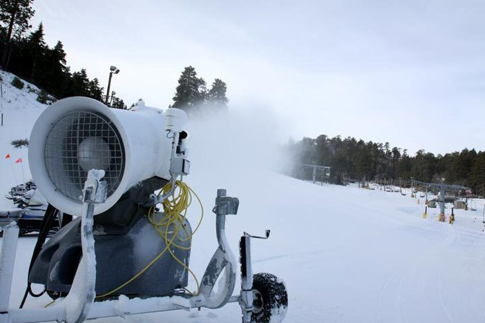 Fresh snowmaking throughout the West Resort.
