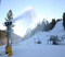 Fresh snowmaking at the base of West.