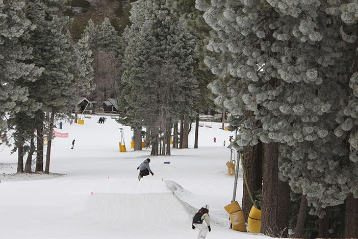 Head over to Sunnyside or Creekside for beginner features.