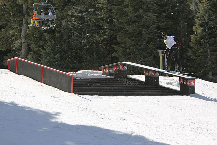 Tag your Instagram photos on the Active Stair Set with @mthighsnow to win great prizes.