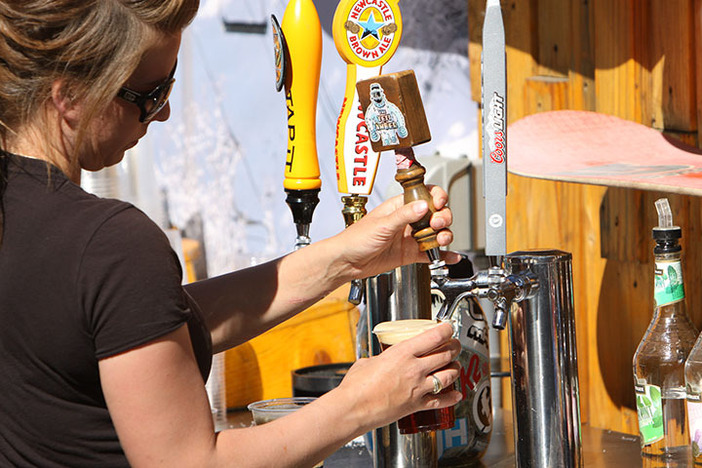 Stop by the Foggy Goggle for a cold brew.