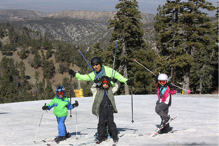 Bring the kids up for a fun day in the snow.