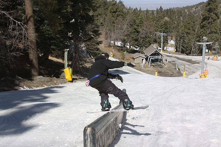 KTG CEO Cory Cronk killn the Double D rail.