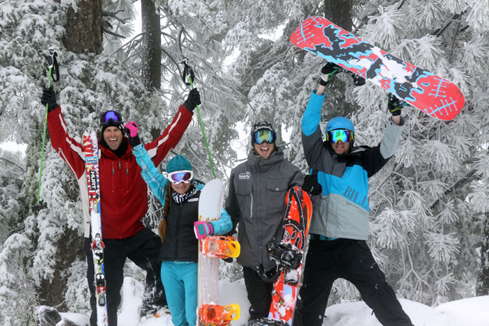 We we're stoked that Mountain High reopened yesterday!