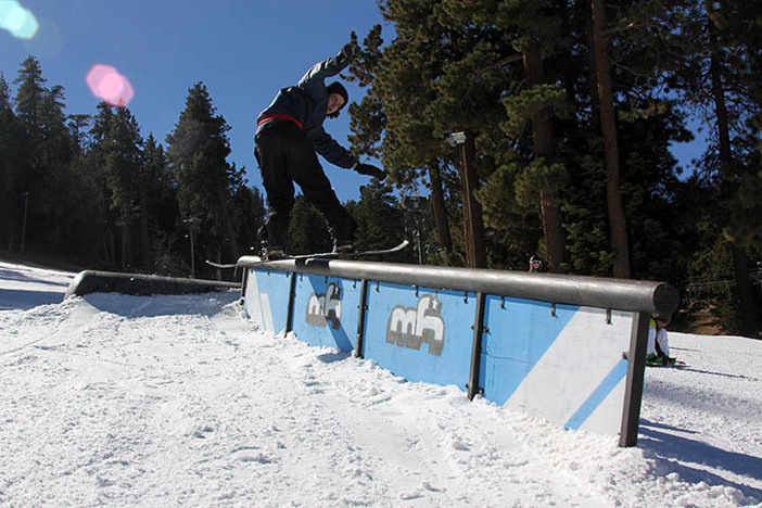 """""""Bacon"""" getting a fat back lip on the Propane Tank to Down Rail."""