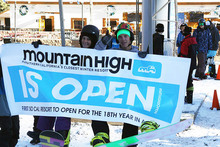 Opening day 2014! First Mountain Open 18 Yrs running.
