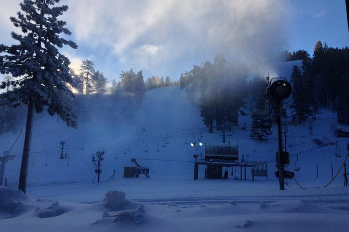 6+ Inches of fresh, machine made snow on all open trails.