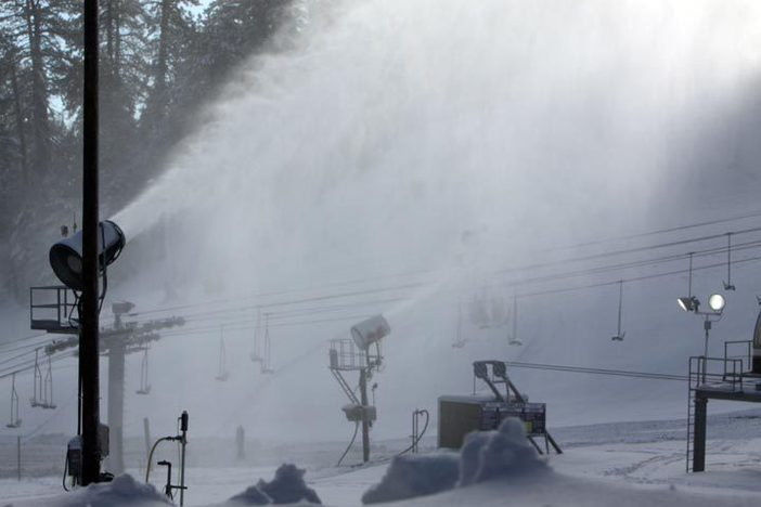 Snowmaking will continue during the morning session.