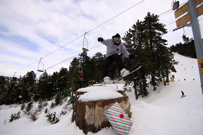Happy Holidays! From your friends at Mountain High Resort.