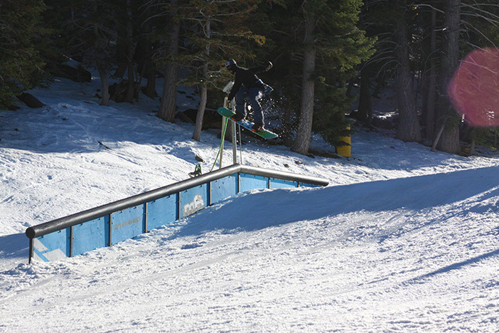 The park is on point right now. Gap to down rail on Lower Chisolm.
