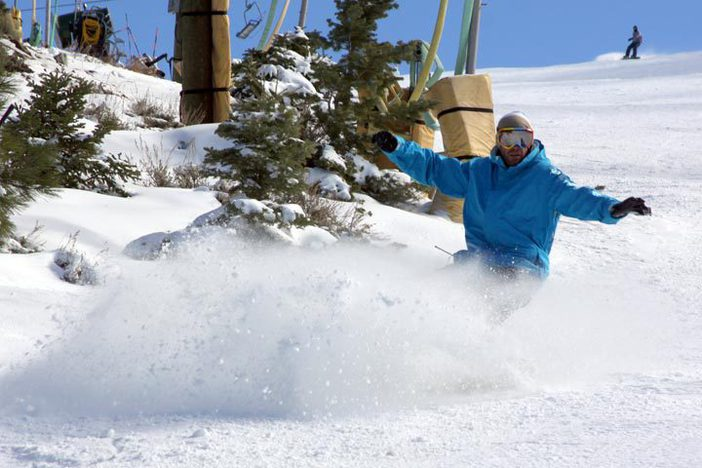 Head to Mountain High for terrific holiday snow.