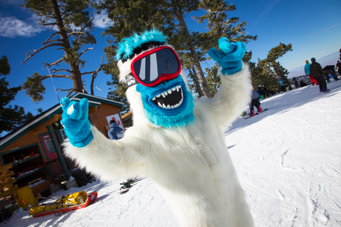 The Yeti is on the loose.  Tag your pics with #haveyouseenhim for your chance to win a 15/16 Season Pass.