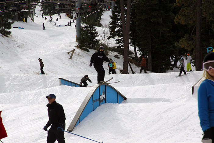 Park Staff has stacked the mountain top to bottom with features.