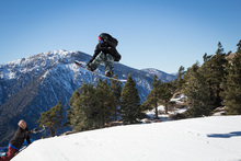 The jumps are back!  Come get some air time at Southern California's closest winter resort.