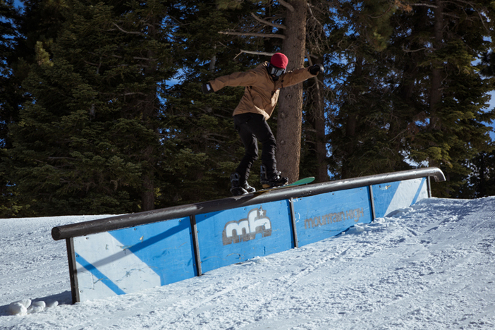 Nima Jalali joined the Ashbury crew for a midweek shred session.