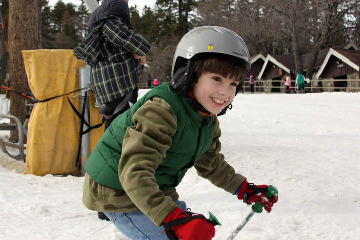 January is National Learn To Ski/Snowboard month.