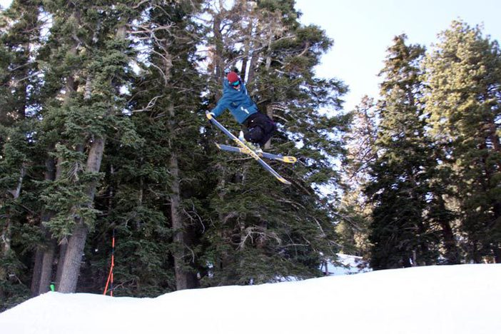 Sending it over the hip.