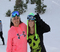 Nothing like a day on the slopes with your BFF.