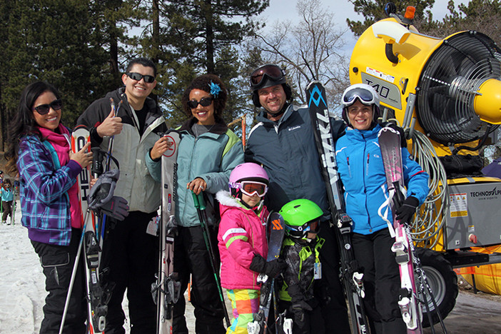 Bring the whole family up for a Daycation at Mountain High.