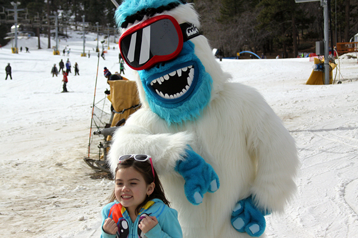 #haveyouseenhim Find the Yeti at Mountain High.