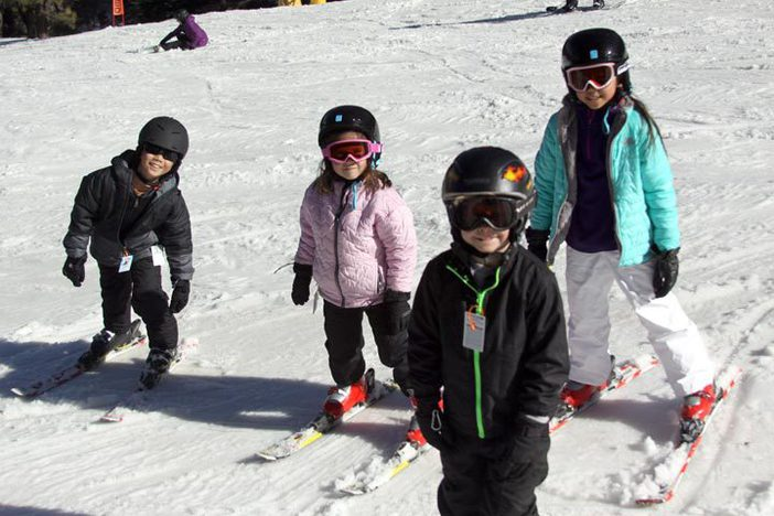 Bring the kids up for Learn To Ski & Snowboard month.