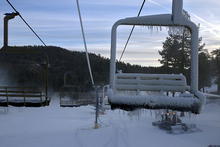 Snowmaking has been great recently on 9 different trails.