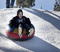 Tubing is open at The North Pole Tubing Park.
