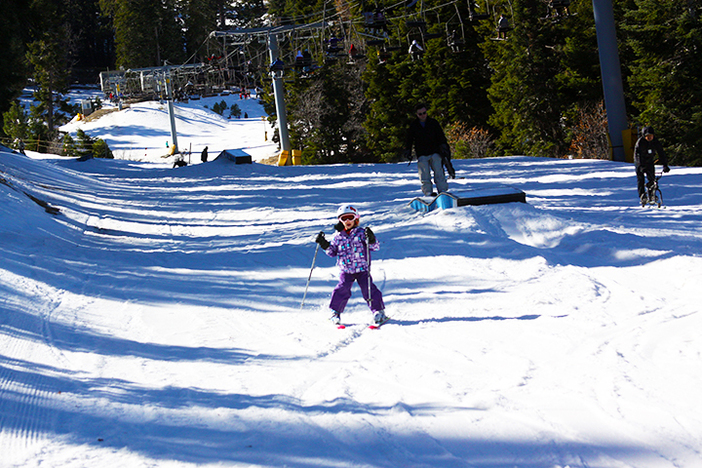 Bring the kids up during January Learn To Ski & Snowboard Month.