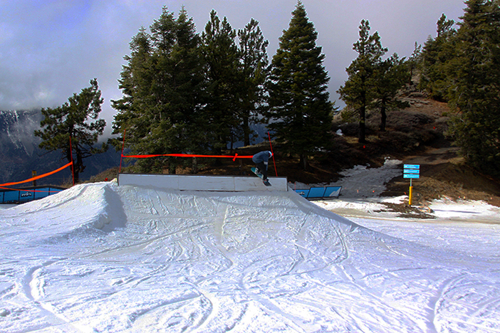 Slide the coping box at Chisolm saddle.