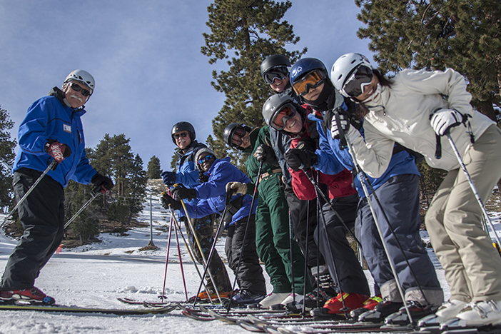 Just a few days left of January National Learn To Ski/Snowboard Month.