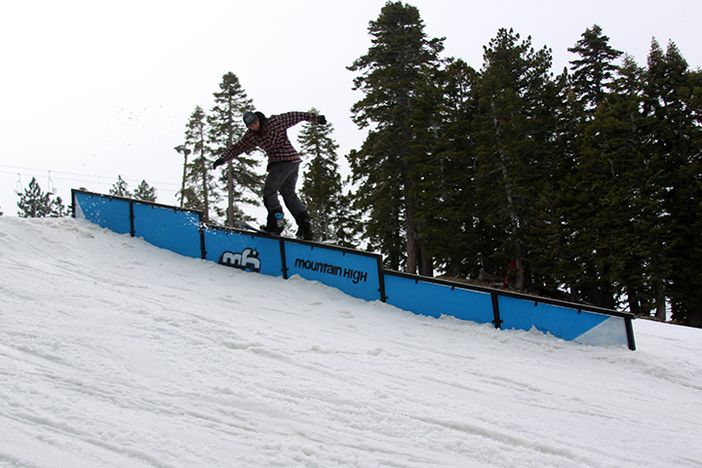 Yale Cousino back lip slide down the triple sec rail.