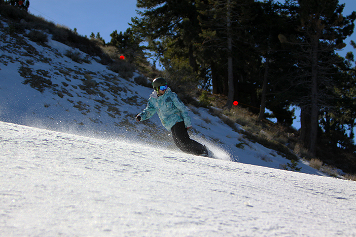 Carving the saddle on Chisolm.